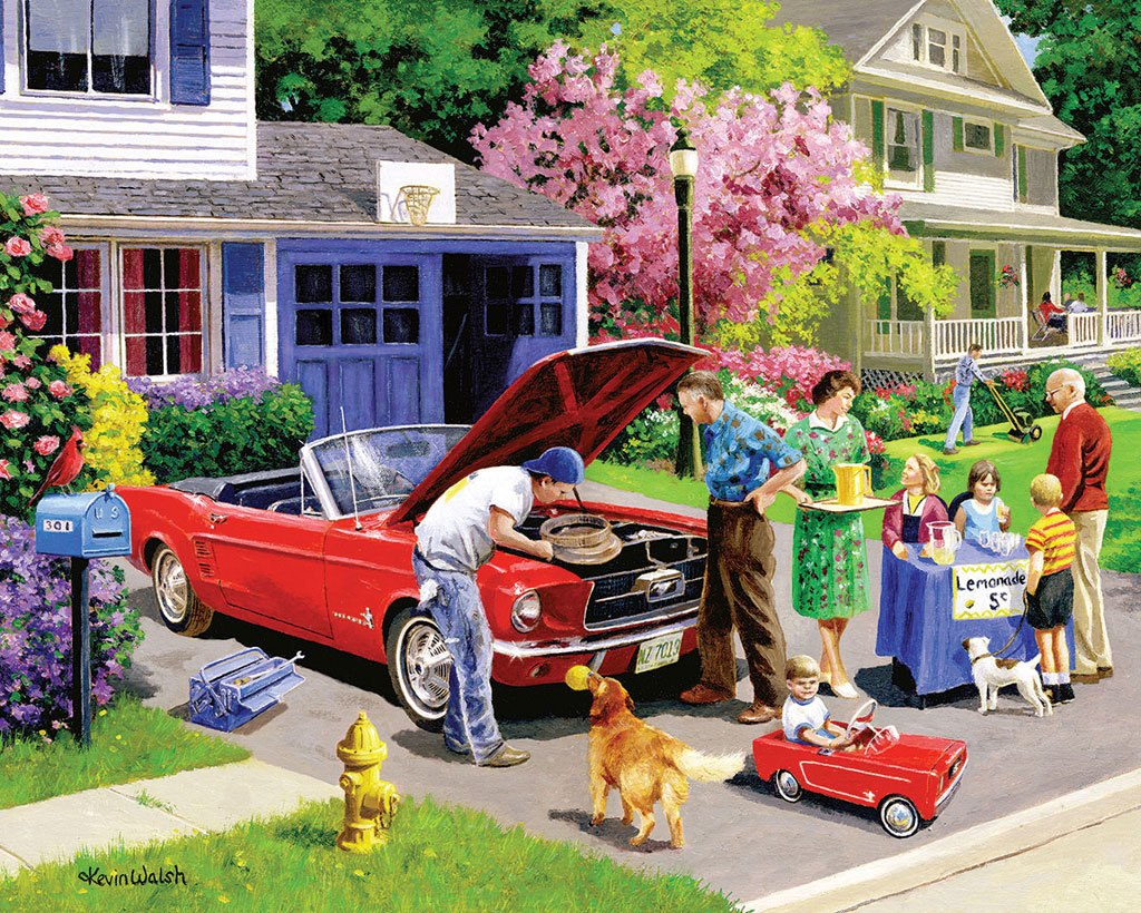 Ready for a Drive - 1000pc Jigsaw Puzzle by White Mountain