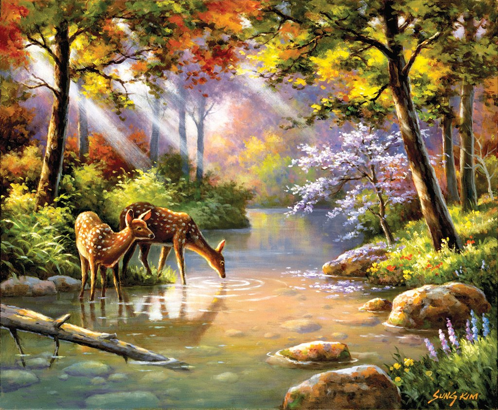 Doe Re Me Creek - 1000pc Jigsaw Puzzle by SunsOut