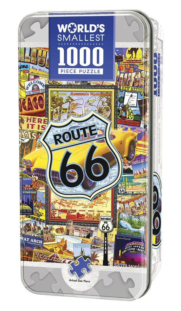 Route 66  - 1000pc Jigsaw Puzzle by Masterpieces