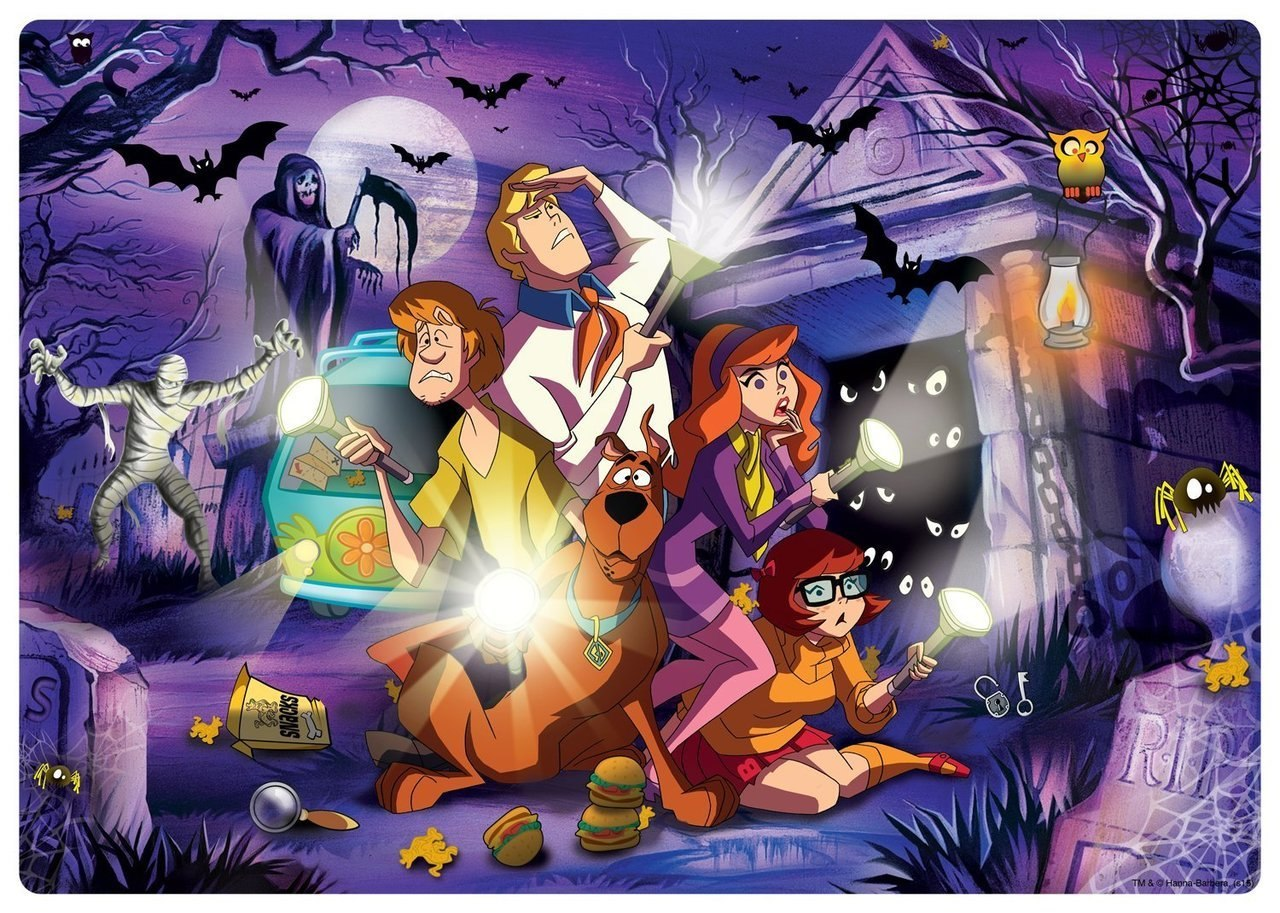 Build, Explore: Scooby-Doo - 48pc Jigsaw Puzzle by Buffalo Games