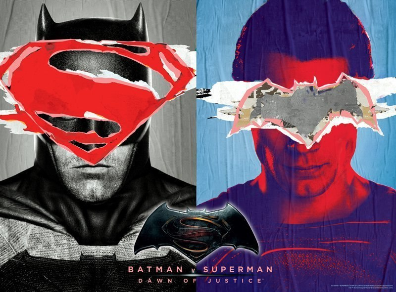 Batman vs. Superman - 1000pc Glow-in-the-Dark Jigsaw Puzzle by Buffalo Games