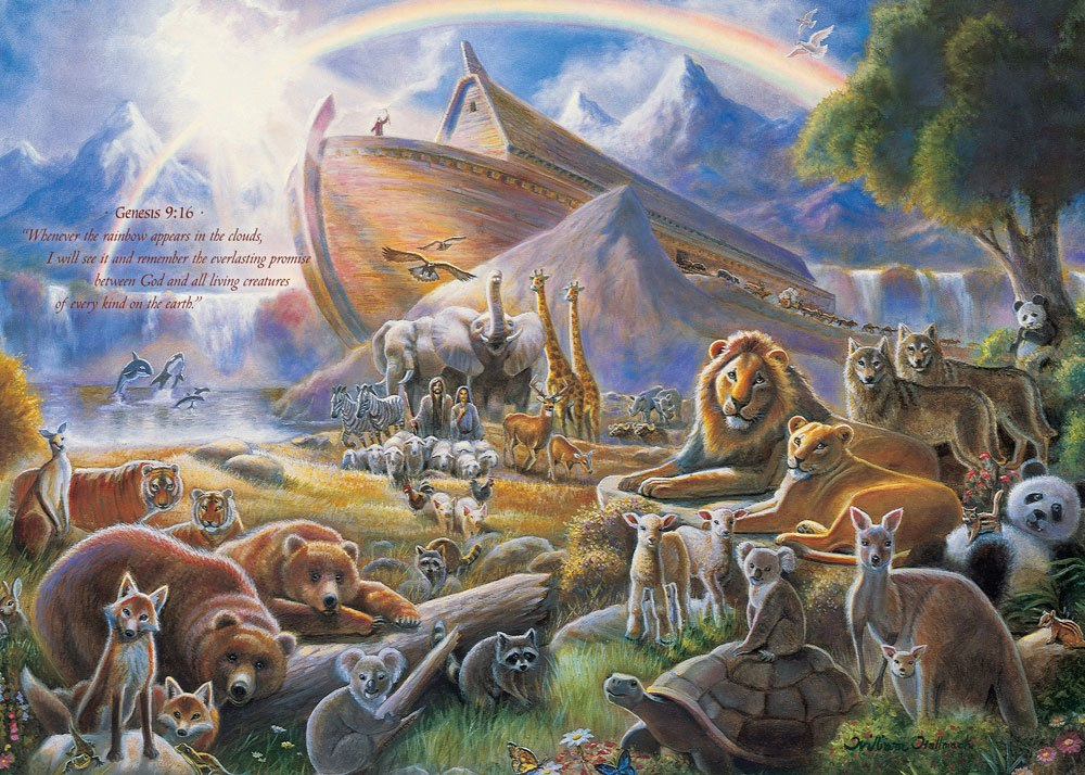 Noah's Ark - 500pc Jigsaw Puzzle by Masterpieces