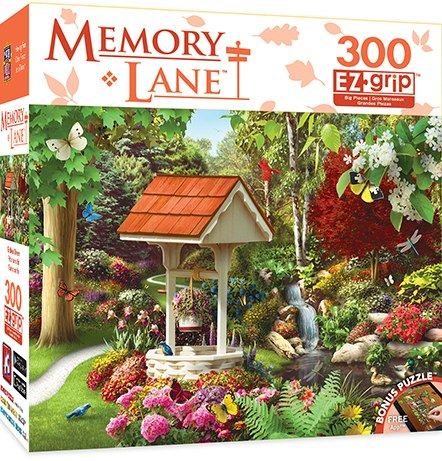 Memory Lane: Endless Dream - 300pc EZ Grip Jigsaw Puzzle By Masterpieces
