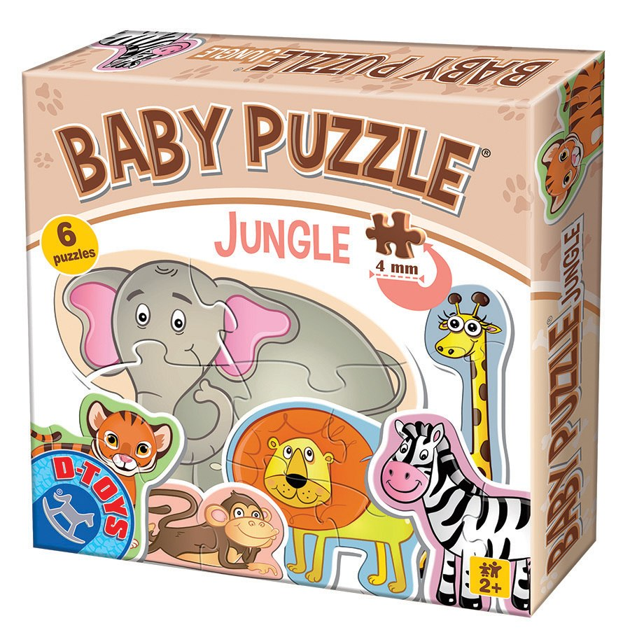 Jungle - Baby Jigsaw Puzzle by D-Toys