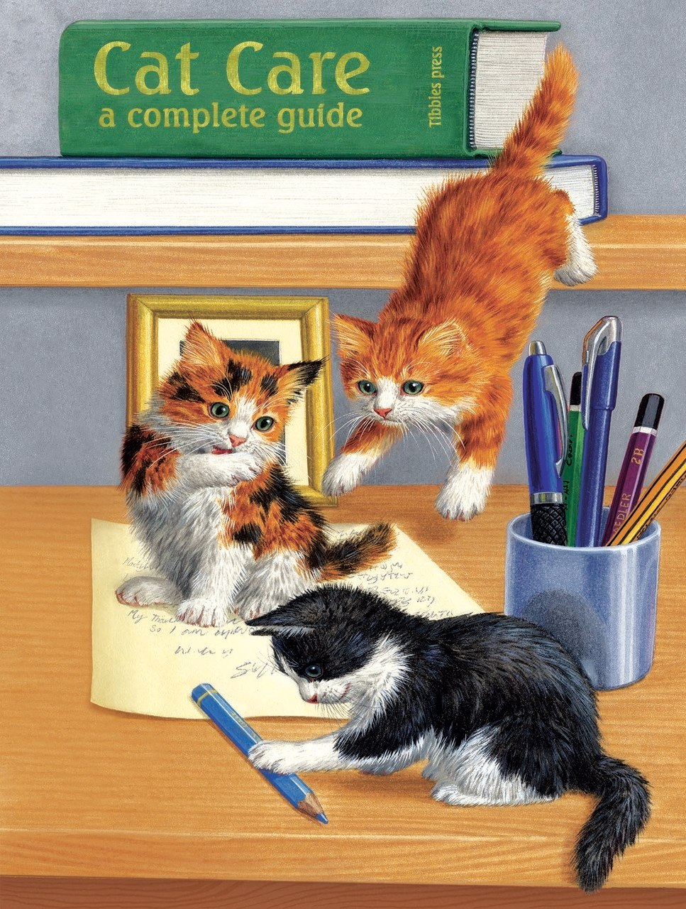 Cat Care - 500pc Jigsaw Puzzle by Sunsout  			  					NEW