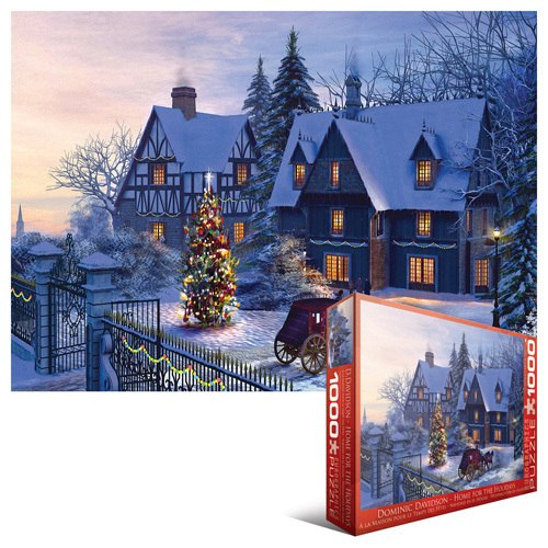 Home for the Holidays - 1000pc Jigsaw Puzzle by Eurographics