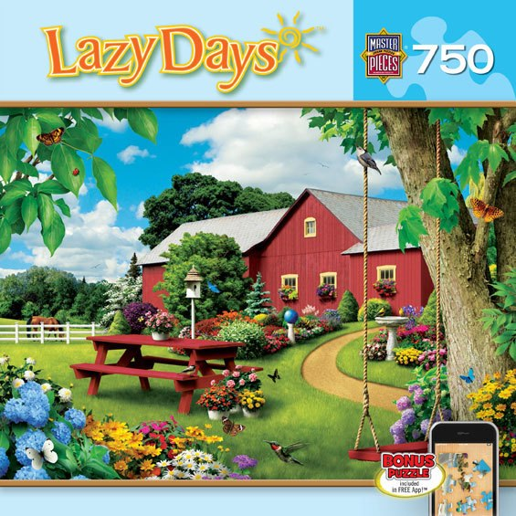 Picnic Paradise - 750pc Jigsaw Puzzle by Masterpieces - image 1