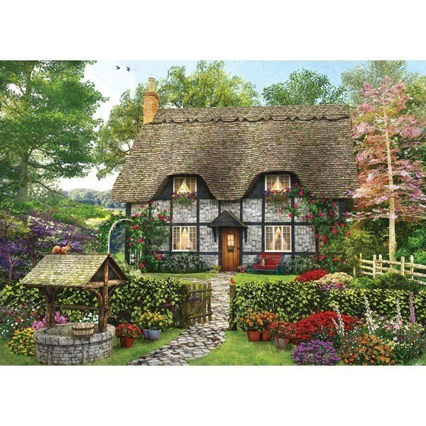 Picture Perfect II: Meadow Cottage - 1000pc Jigsaw Puzzle by Holdson  			  					NEW