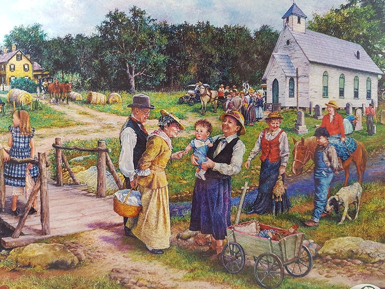 Country Church - 1000+pc Jigsaw Puzzle By Sunsout  			  					NEW