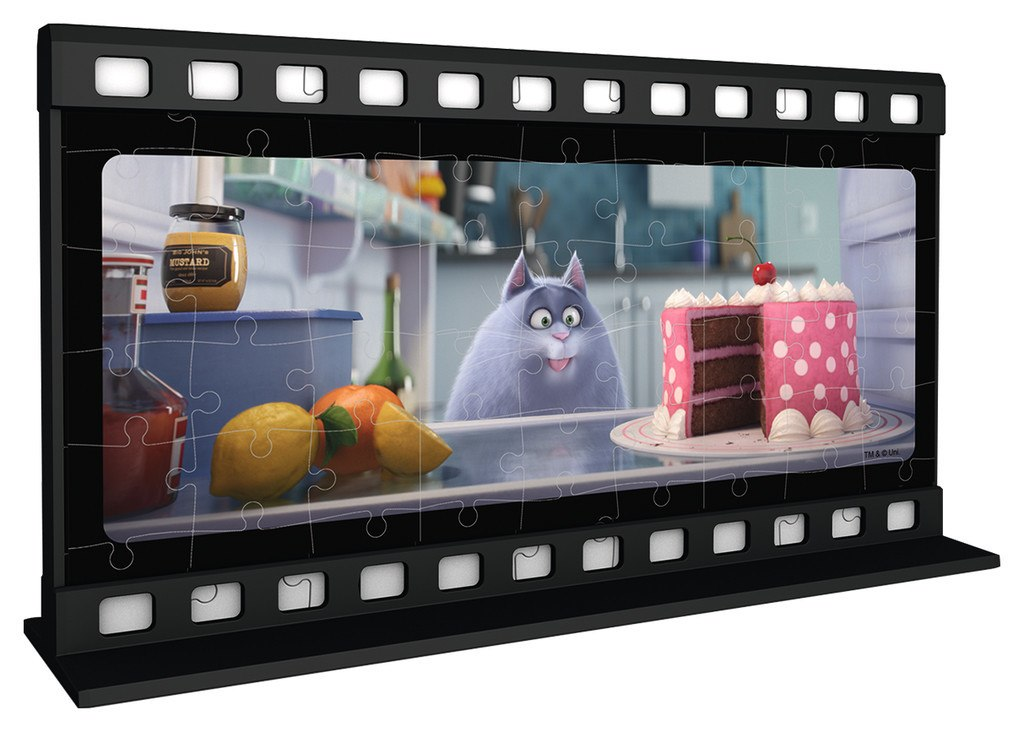 Secret Life of Pets - 108pc Two-Sided 3D Jigsaw Puzzle By Ravensburger