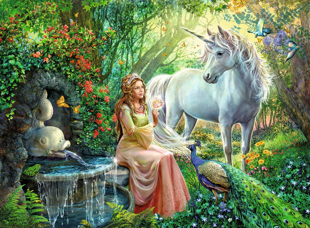 Princess & Unicorn - 100pc by Ravensburger