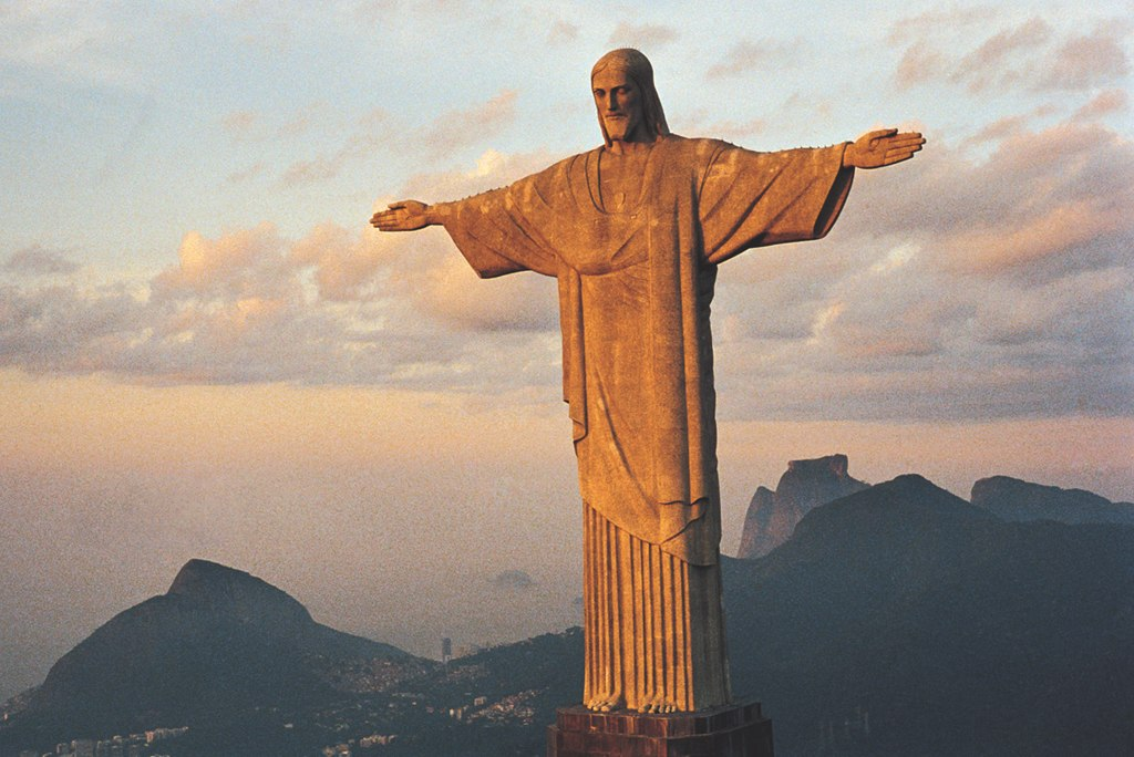 Christ Redeemer, Brazil Puzzle - 1000pc Jigsaw Puzzle by Tomax