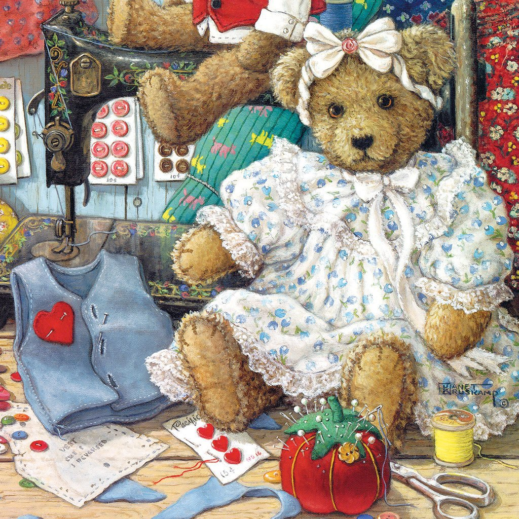 Bears & Bows - 500pc Jigsaw Puzzle by SunsOut
