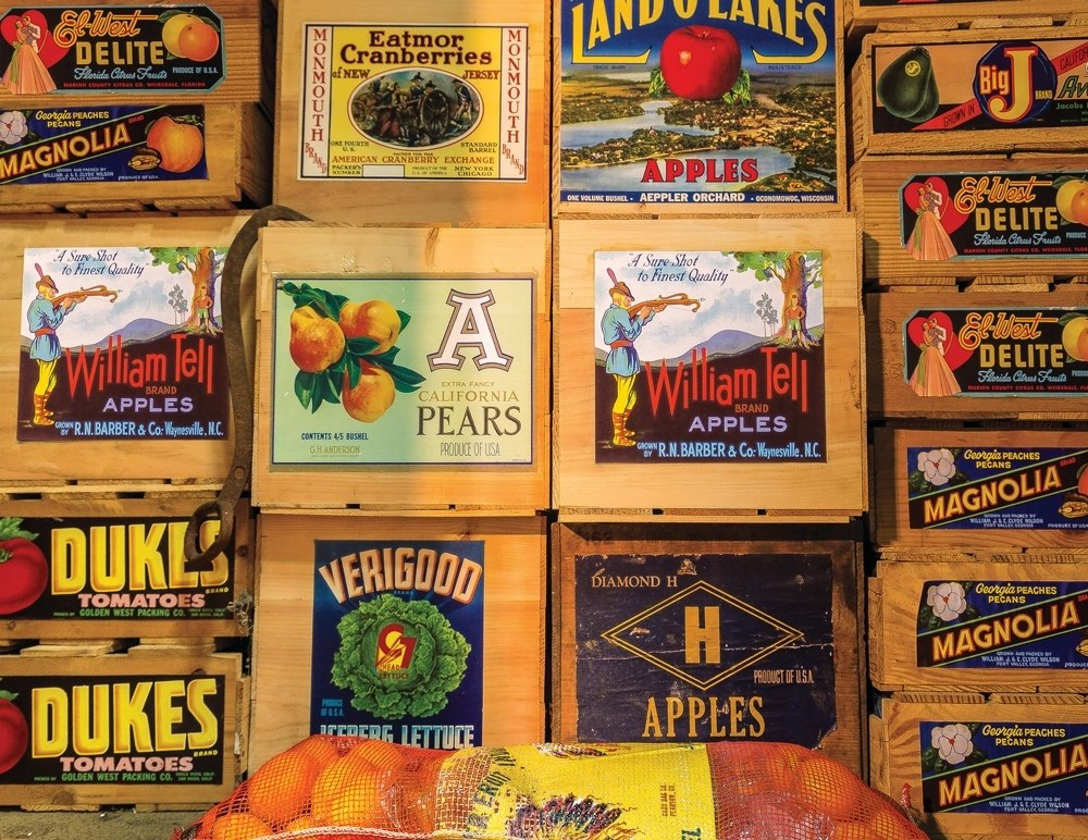Vintage Labels - 500pc Jigsaw Puzzle by Springbok