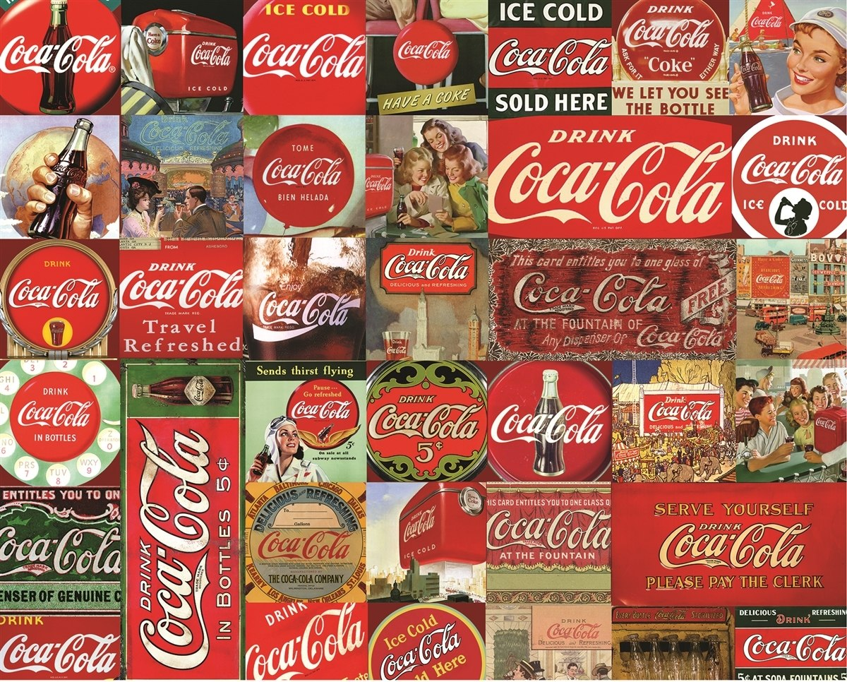 Coca-Cola, It's the Real Thing - 1000pc Jigsaw Puzzle By Springbok