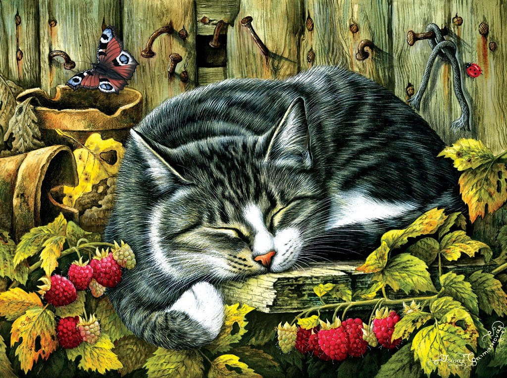 Siesta - 1000pc Jigsaw Puzzle by Sunsout