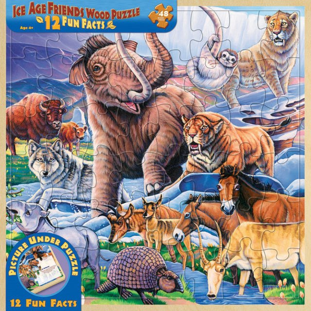 Ice Age Friends - 48pc Jigsaw Puzzle By Masterpieces