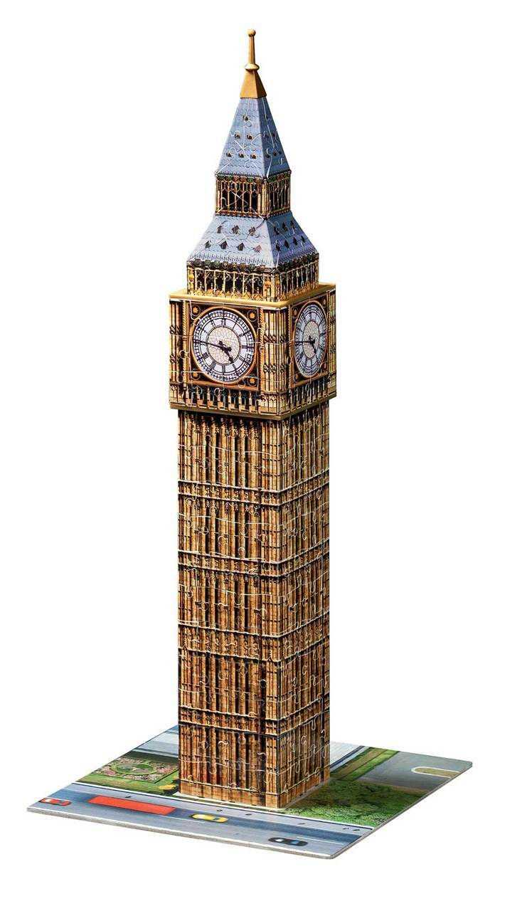 Big Ben - 216pc 3D Jigsaw Puzzle By Ravensburger