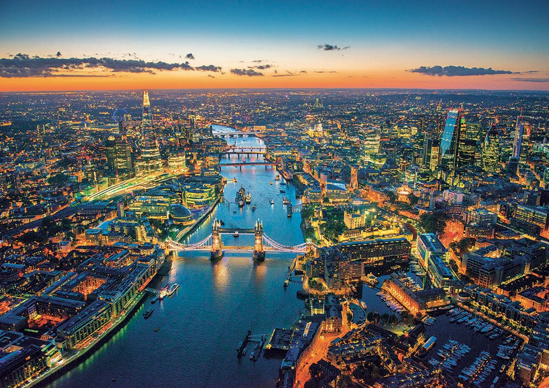 London Aerial View - 1500pc Jigsaw Puzzle by Educa