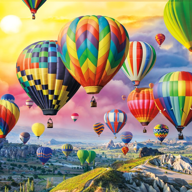Up, Up, and Away - 300pc Large Format Jigsaw Puzzle by Buffalo Games  			  					NEW