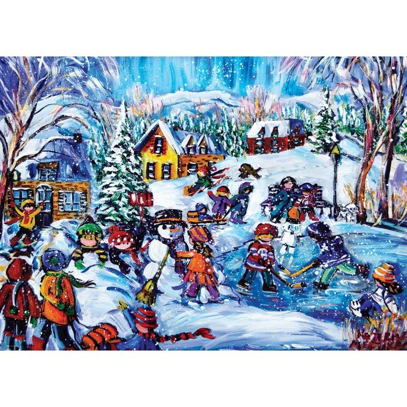 Snow Day - 1000pc Jigsaw Puzzle by Eurographics  			  					NEW