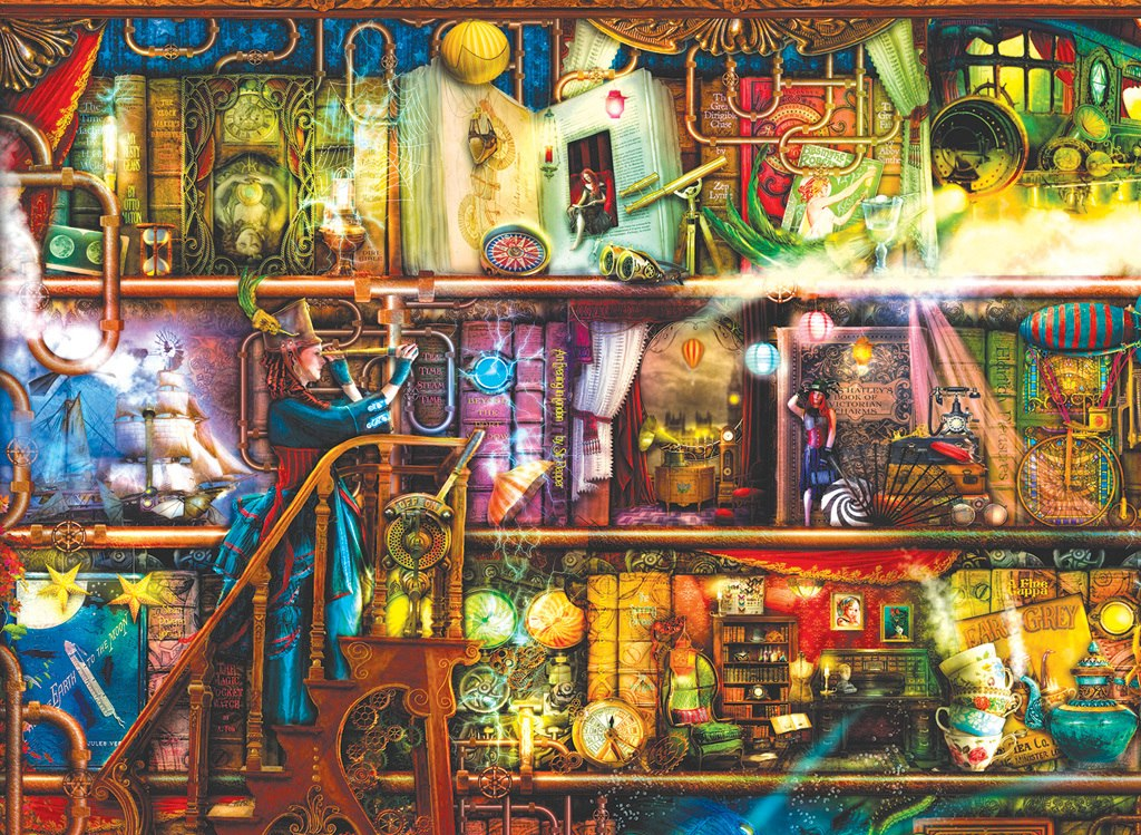 Fantastic Voyage - 1500pc Jigsaw Puzzle by SunsOut