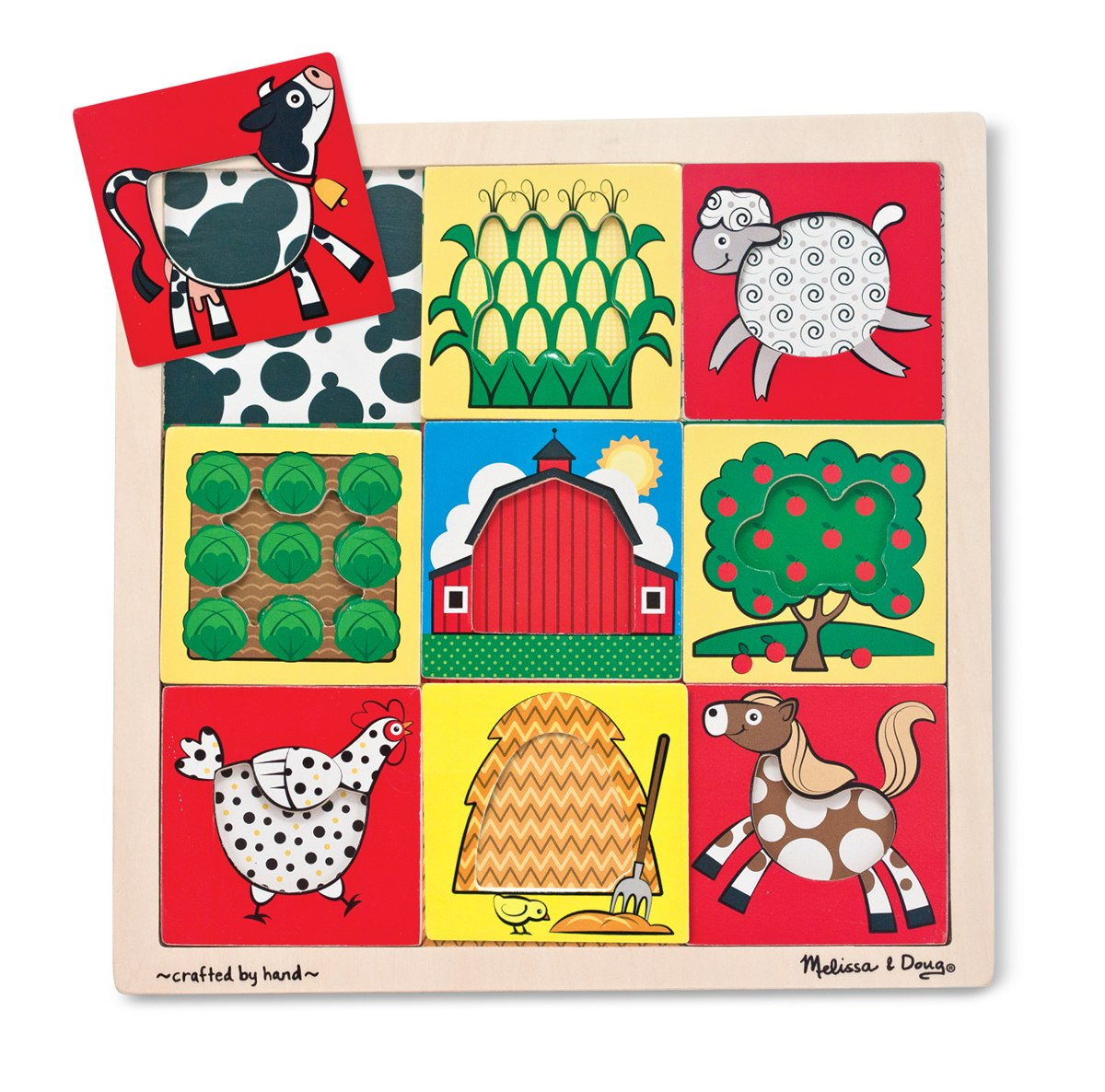 Farm - Peek-Through Puzzle By Melissa & Doug