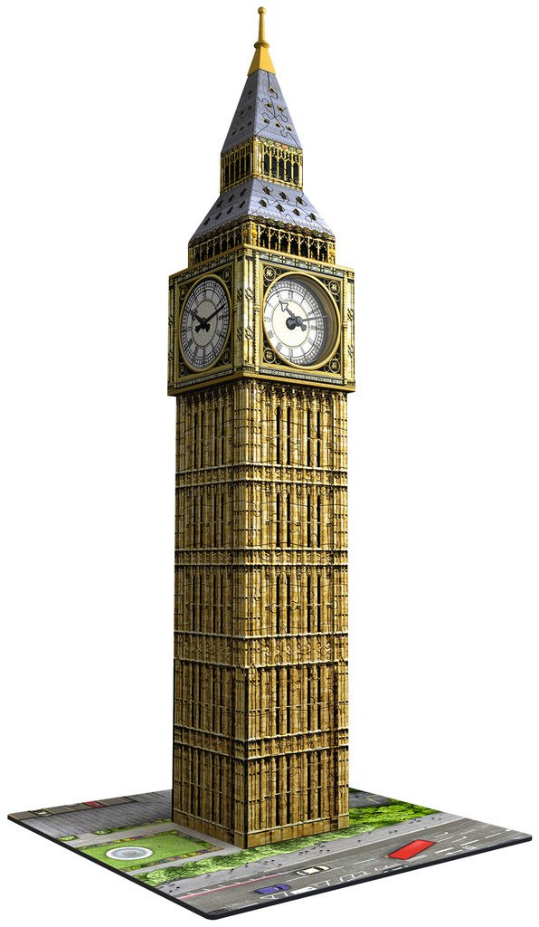 Big Ben Clock - 216pc 3D Jigsaw Puzzle By Ravensburger