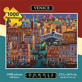 Venice - 1000pc Jigsaw Puzzle by Dowdle - image 1