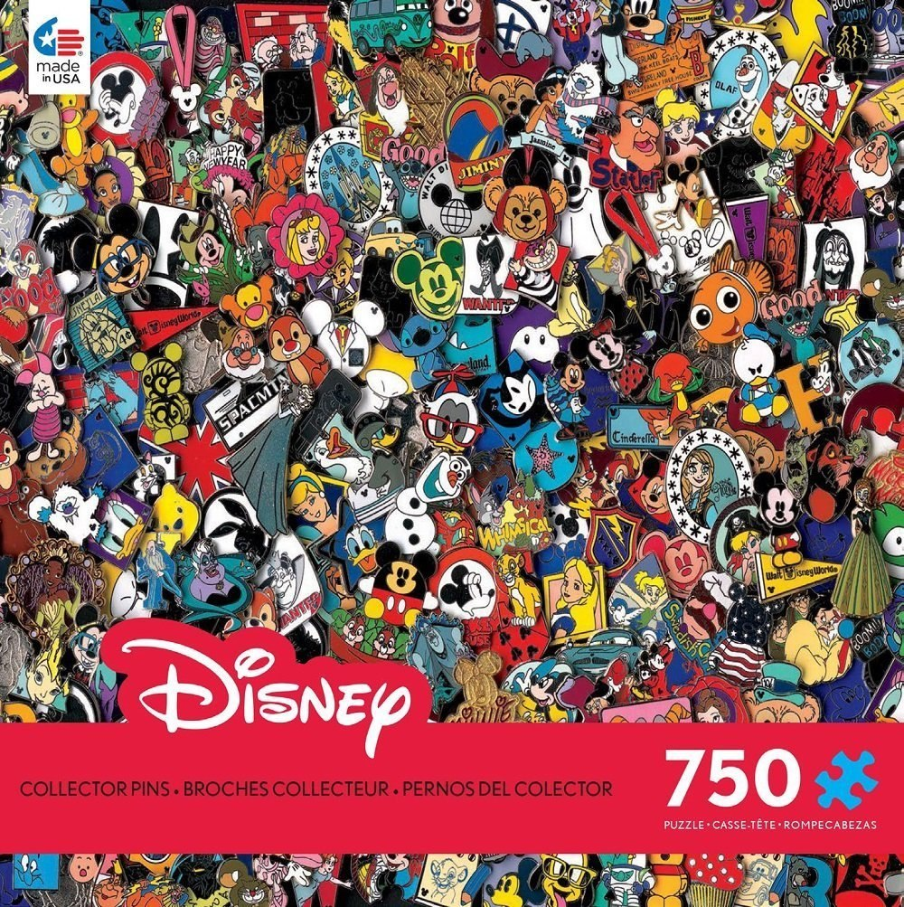Disney Pins - 750pc Jigsaw Puzzle by Ceaco
