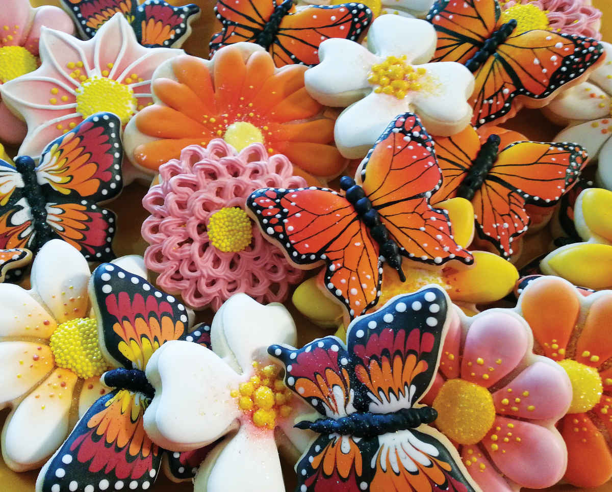 Butterfly Cookies - 1000pc Jigsaw Puzzle By Springbok