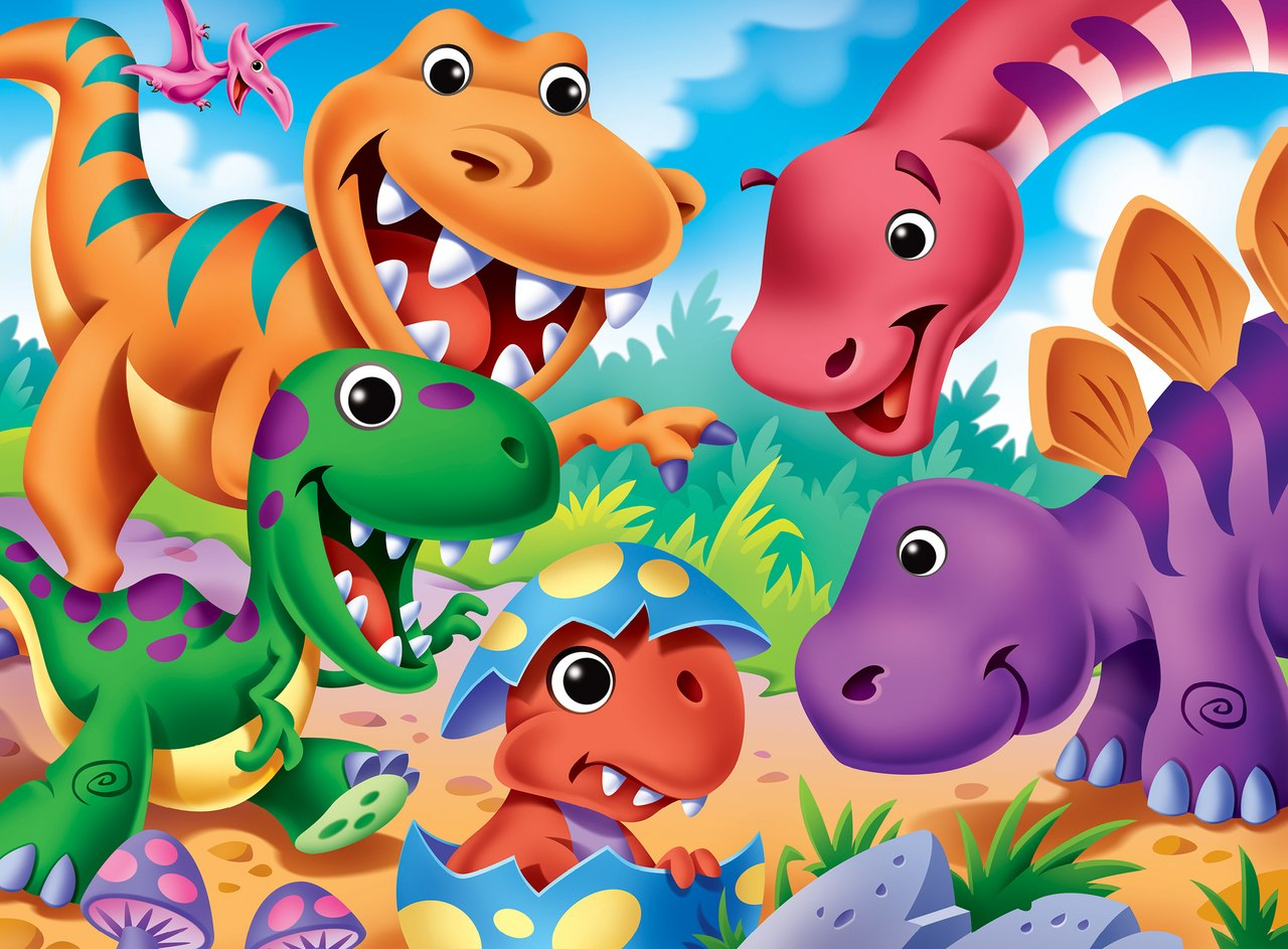 Googly Eyes: Dinosaurs - 48pc Jigsaw Puzzle by Masterpieces  			  					NEW