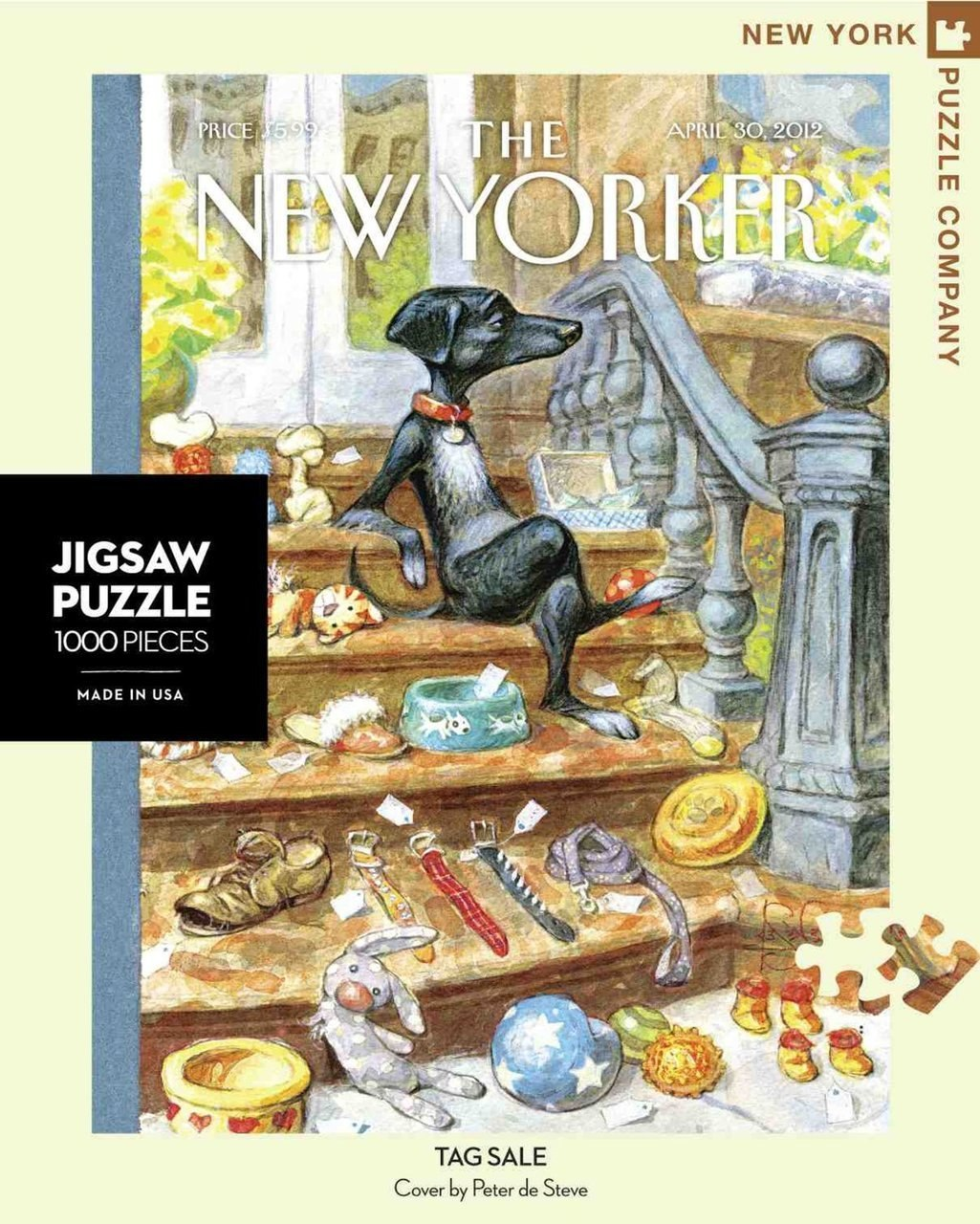 Tag Sale - 1000pc Jigsaw Puzzle by New York Puzzle Co.