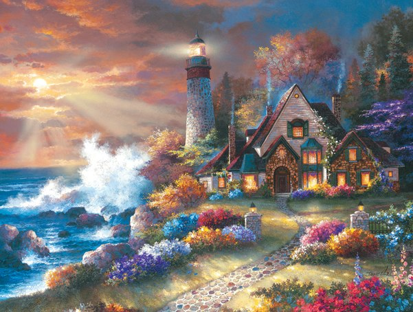 Guardian of Light - 300pc Large Format Jigsaw Puzzle By Sunsout
