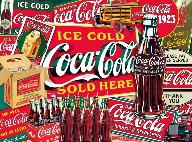 Ice Cold Coca-Cola - 1000pc Jigsaw Puzzle by Buffalo Games