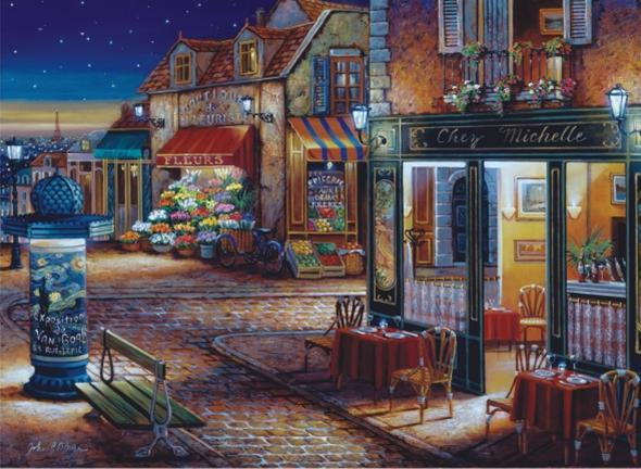 Starry Night - 1000pc Jigsaw Puzzle by Anatolian