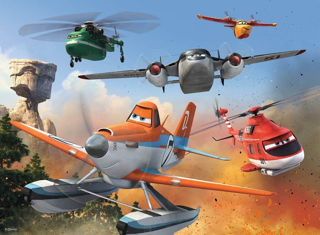 Pixar: Fire & Rescue: Fighting the Fire - 100pc XXL by Ravensburger