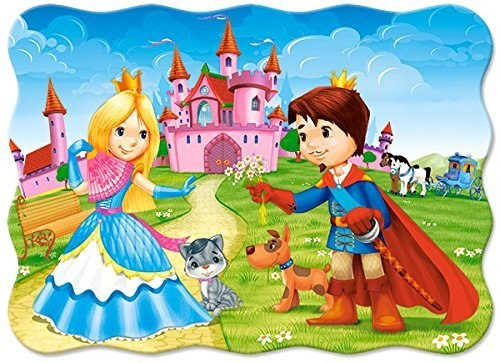 The Princess Couple - 30pc Jigsaw Puzzle By Castorland