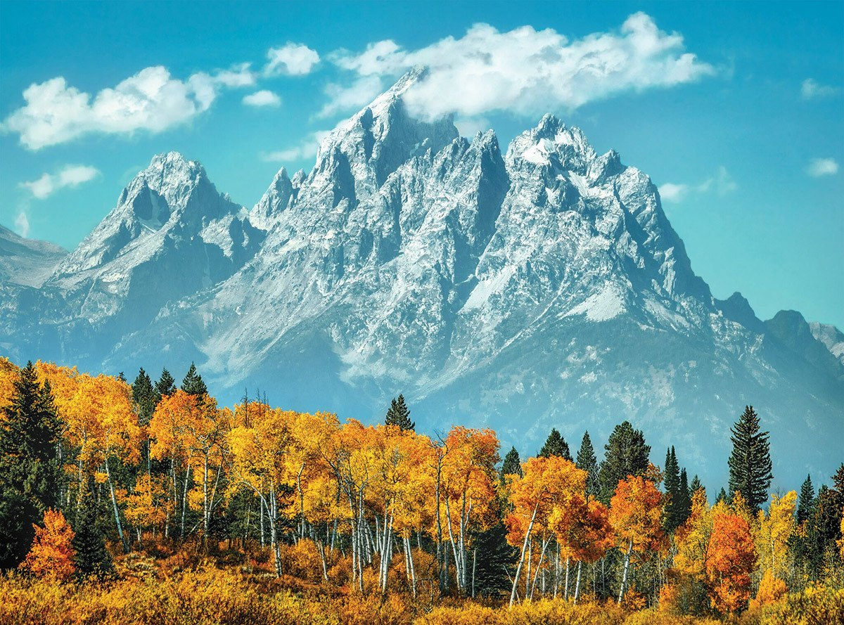 Grand Teton in Fall - 500pc Jigsaw Puzzle by Clementoni