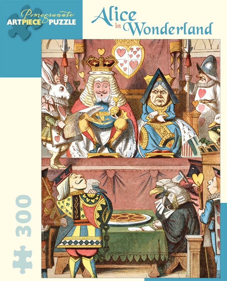 Alice in Wonderland - 300pc Jigsaw Puzzle by Pomegranate
