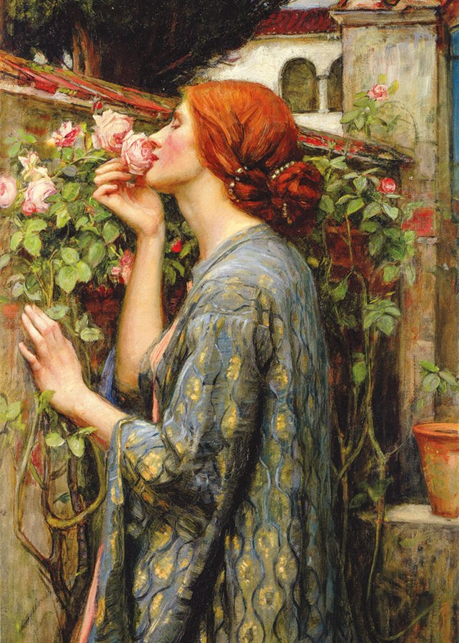 Waterhouse: The Soul of the Rose - 1000pc Jigsaw Puzzle by D-Toys