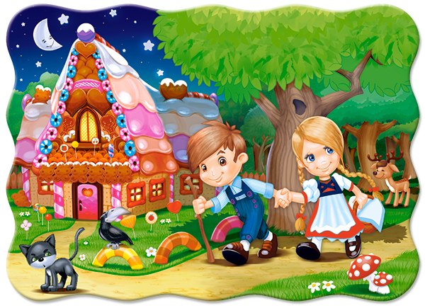 Hansel and Gretel - 30pc Jigsaw Puzzle By Castorland